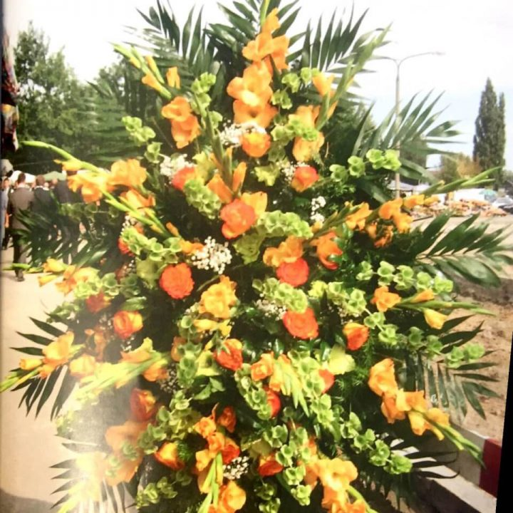 Kwiaty na pogrzeb